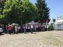 Streikaktion bei Autozulieferer Preh in Portugal