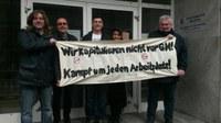 Wer einen von uns angreift, der greift uns alle an! Solidarität mit Christian Kowoll im Kampf gegen seine Kündigungen