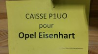 """""""Opel Eisenhart"""" - (Korrespondenz 14.12.18)"""