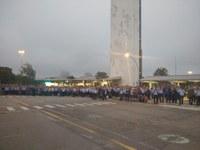 Solidarität mit den Arbeitern bei GM - erste Proteste gegen die GM-Pläne