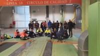 Beschäftigte des Mercedes-Werks im baskischen Vitoria-Gasteiz haben die Produktionslinien gestoppt
