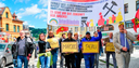 Automobilarbeiterkonferenz und Bergarbeiterkonferenz solidarisch