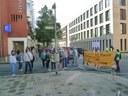 Kämpferische Kundgebung zum Gütetermin der entlassenen befristeten VW-Kollegen