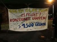Solikreis für den Kampf der Daimler-Kollegen Düsseldorf organisiert Kundgebungen vor dem TOR