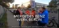 Videos vom Kampf der Daimler Kollegen um ihre Arbeitsplätze - aktualisiert