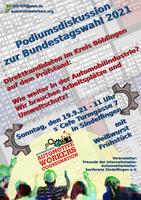 Sindelfinger Trägergruppe organisiert Podiumsdiskussion zur Bundestagswahl 2021