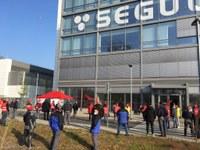 Presse- und Solidaritätserklärung zur heutigen Protestaktion und zur Sitzung der Einigungsstelle am P60/Segula in Rüsselsheim
