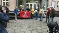 Daimler-Kolleginnen und -Kollegen/IAC Sindelfingen, solidarisch mit Kollegin Ulja Held, Ford Köln