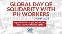 Philippines: Global Day of Solidarity with PH workers