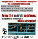 India: #FreetheMaruti13 - Appeal to Observe 18thMarch as Day of Protest