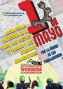 Cartel del Grupo Internacional de Coordinación del Primero de Mayo